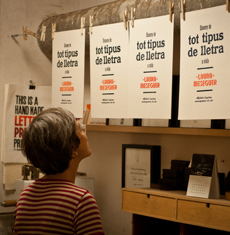 Looking at Letters and Designing Them: Laura Meseguer, Type Designer