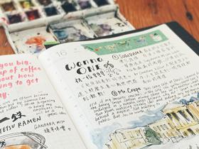 Exploring through Urban Journaling: Stationery Enthusiast April Wu
