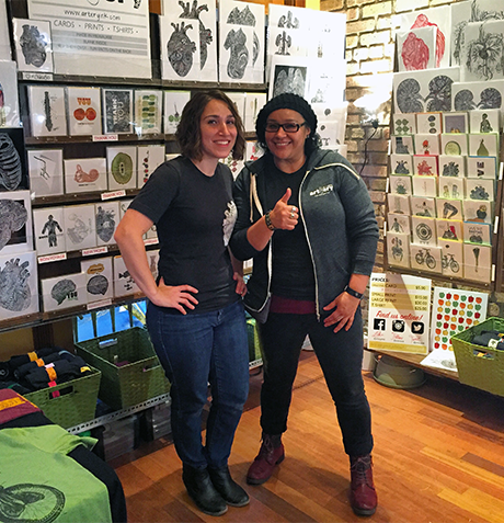 Wellness and Art: Artery Ink's Mara Natkin and Gloria Ramirez