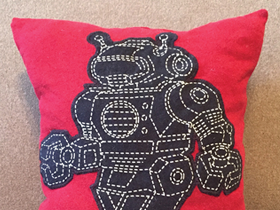 Brittany Campbell's Recycled Tee Pillows
