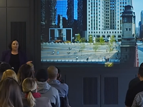 Reclaiming urban space: Carol Ross Barney at 51st monthly CreativeMornings in Chicago