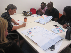 Community-Engaged Designer and Leader Christine Gaspar of the Center for Urban Pedagogy