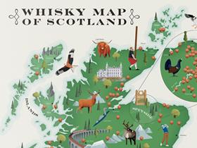 Dale Watson Creates Whisky Maps