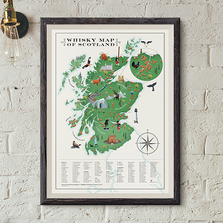 Dale Watson Creates Whisky Maps