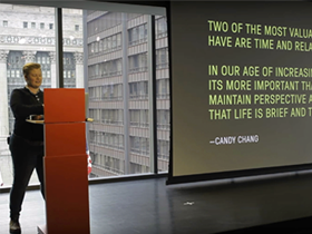 The Net Effect: Firebelly Design's Dawn Hancock at 52nd monthly CreativeMornings in Chicago