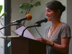 Poet Hannah Stephenson's Paging Columbus for the Literary Community