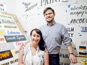 Andrew & Kelsey McClellan, the Heart & Bone of Sign Painting