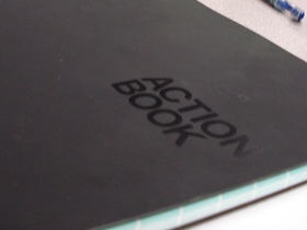 Taking Advantage of Behance's Action Book notebook by Marketing Strategist Seijen
