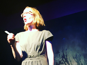 Copywriter Janelle Blasdel Creates Comedy from the Page to Stage