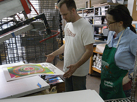 Chicago CreativeMornings #5 with Jay Ryan of Screenprint Shop, The Bird Machine