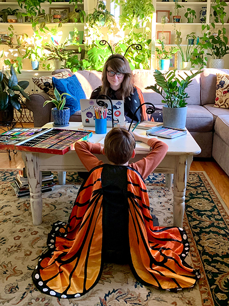 Designer Joni Trythall's Quality Time with Her Son, Ben