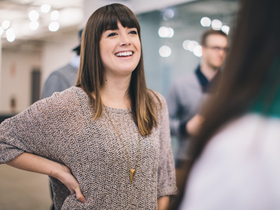 The people who make the Chicago chapter of CreativeMornings possible