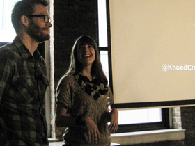 Chicago CreativeMornings #7: Knoed Creative, married and fearless