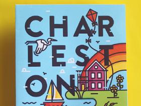 Charleston Travel Guide written, designed, illustrated by Lauren Beltramo
