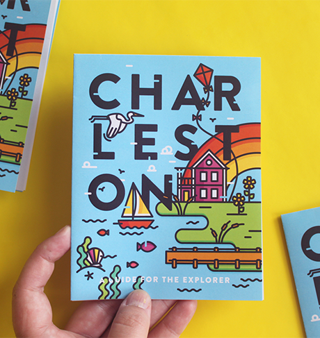 Charleston Travel Guide written, designed, illustrated by Lauren Beltramo