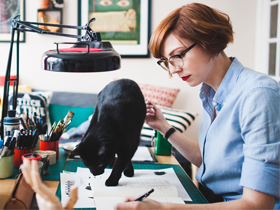 Building a Career from Scratch: Illustrator, Art Director, Graphic Novelist Meags Fitzgerald
