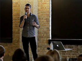 Keep it Weird: Creative Director Michael Freimuth at 59th monthly CreativeMornings in Chicago