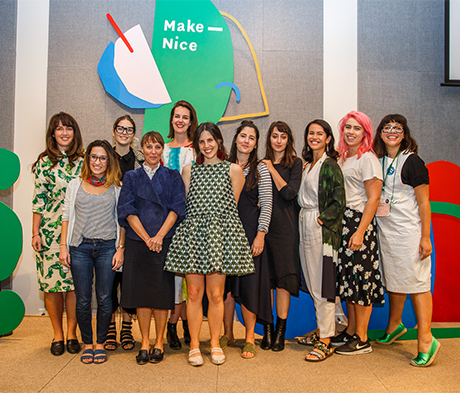 "Designer and Illustrator Ngaio Parr Launched ""Make Nice"" to Elevate and Inspire Creative Women"