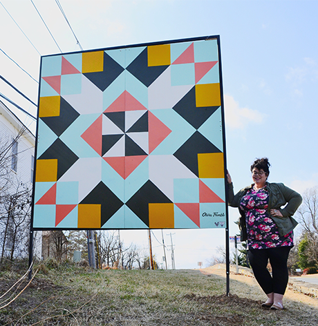 Olivia Trimble of The Quilt Square Project
