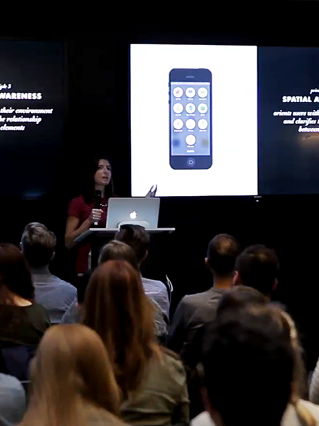 Believe in Magic: User Experience Designer Rebecca Ussai at 57th CreativeMornings in Chicago