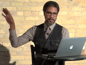 A Most Colorful Life: Artist Reginald Baylor at 1st CreativeMornings chapter gathering in Milwaukee