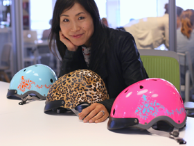 Founder Sawako Furuno Puts Confidence Back on the Road with her Beautifully Protective Helmets