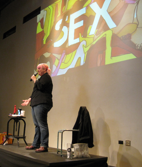 Demystifying the World of Sex Toys: Searah Deysach at Chicago CreativeMornings #29
