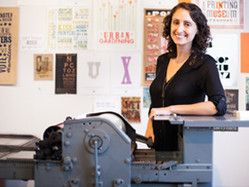 Energy in a small creative business: Shayna Norwood of Steel Petal Press