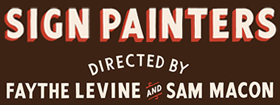 """Sign Painters"": Craft of Sign-Painting in the U.S.A."